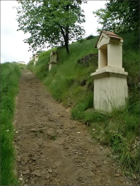 Křížová cesta na Kalvárii