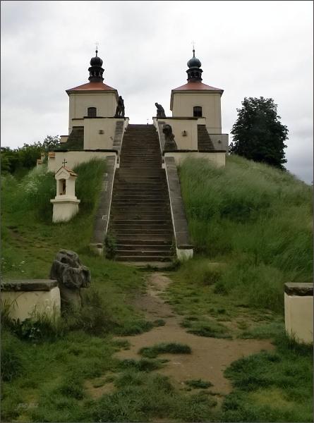 Kalvárie u obce Ostré u Úštěka