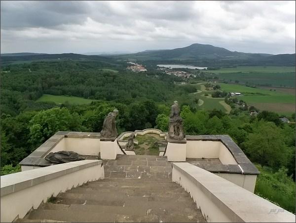 Pohled z Kalvárie k západu