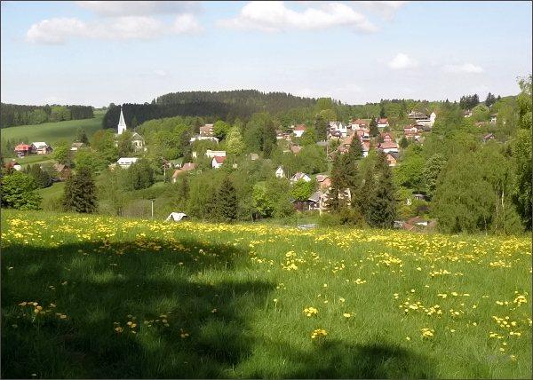 Bublava s kostelem Nanebevzetí Panny Marie z Olověného vrchu