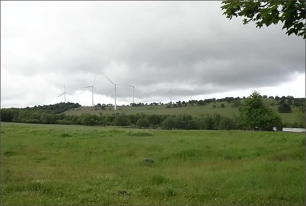 Nová Ves v Horách, novodobé větrné mlýny