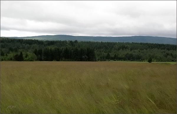 Pohled od Mníšku k jihu