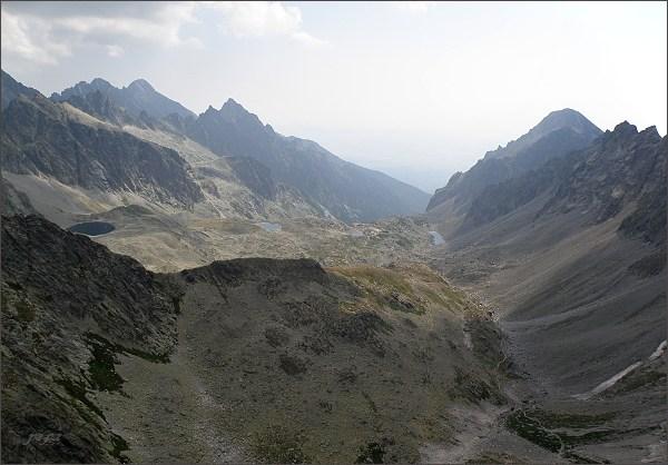 Veľká Studená dolina z Divej veže