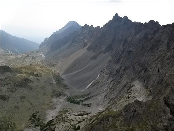 Bradavica, Velické Granáty a Slavkovský štít z Divej veže