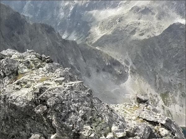 Sedlo Poľský hrebeň z Divej veže