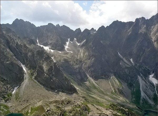 Závěr Kačacej doliny z Hrubej veže