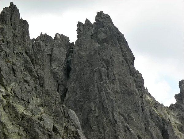 Komín na Veľkú Vidlovú vežu
