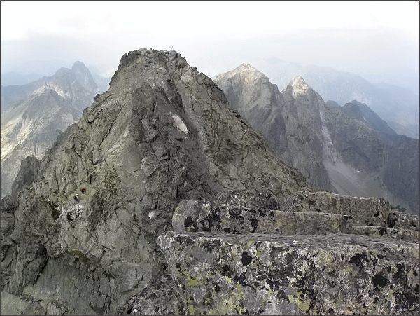 Severozápadní vrchol Vysokej