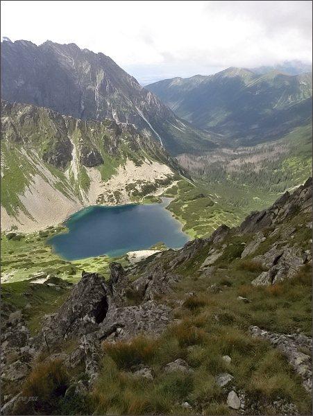 Temnosmrečinská a Kôprová dolina z Hrubého štítu