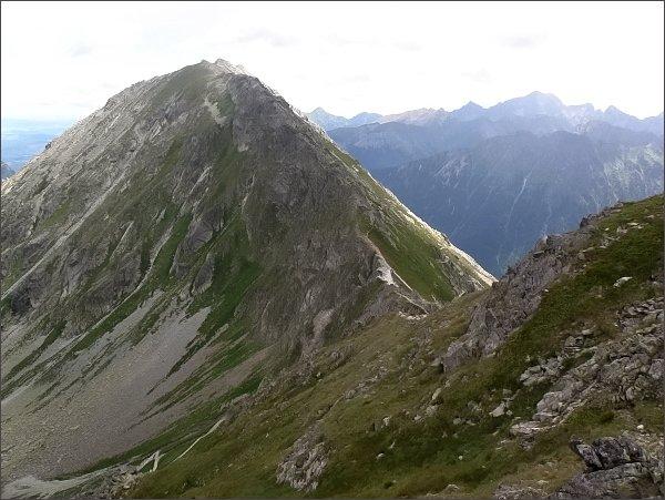 Miedziane a Szpiglasowa Przełęcz z Hrubého štítu
