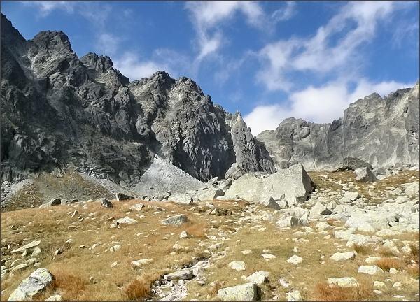 Zavěr Batizovskej doliny od Kostolíka