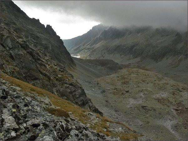 Mlynická dolina z Veľkej Capej veže
