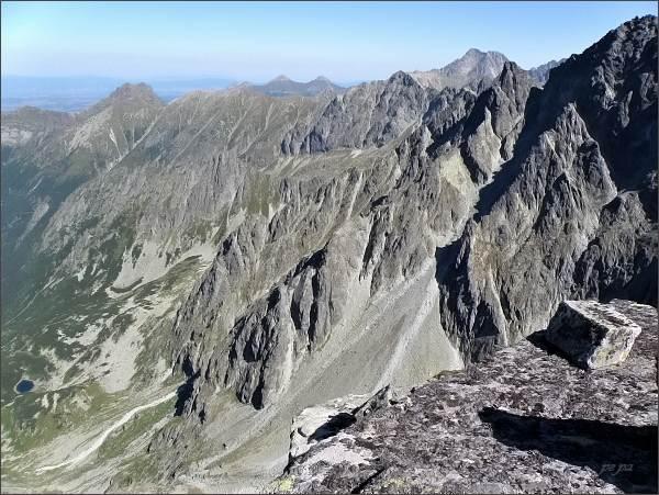 Kačacia dolina z Kačacieho štítu