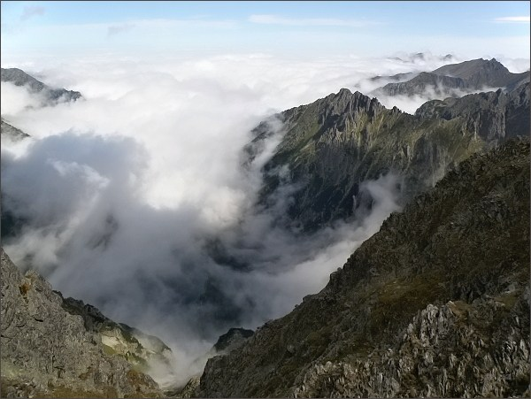 Dolina Rybiego Potoku z Mengusovského sedla