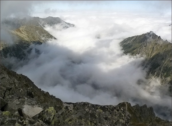 Dolina Rybiego Potoku z Východného Mengusovského štítu