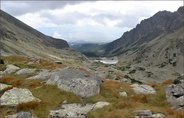Vysoké Tatry v čase zežloutlých trav