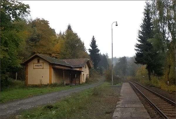 Vysoká Pec, nádraží
