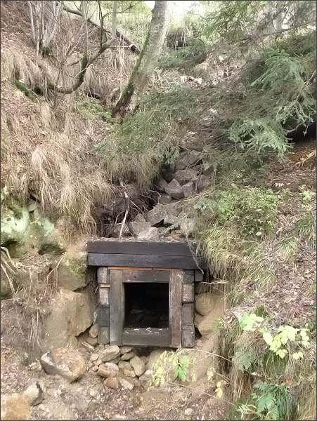 Dědičná štola bývalého dolu Vavřinec