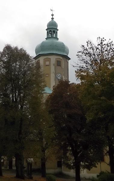 Horní Blatná. Kostel sv. Vavřince