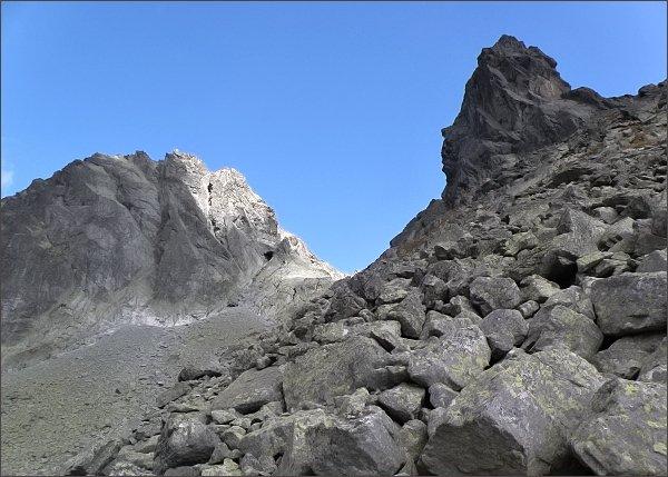 Kostolík a Batizovský štít