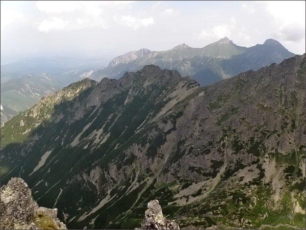 Svinka a Belianske Tatry z Malej Snehovej veže