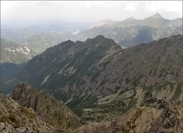 SvSvinka a Belianske Tatry z Prostrednej Snehovej veže