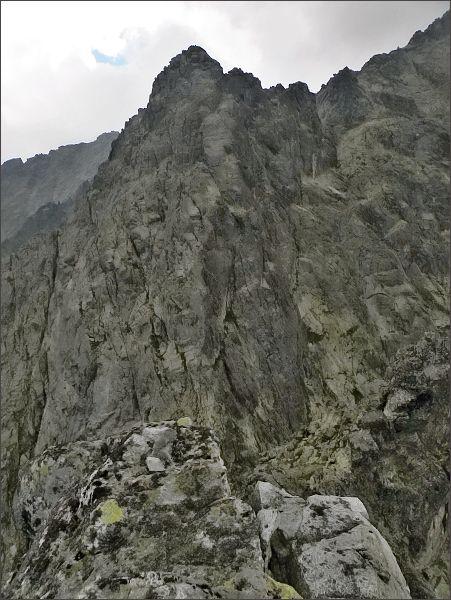 Veľká Snehová veža z Prostrednej Snehovej veže