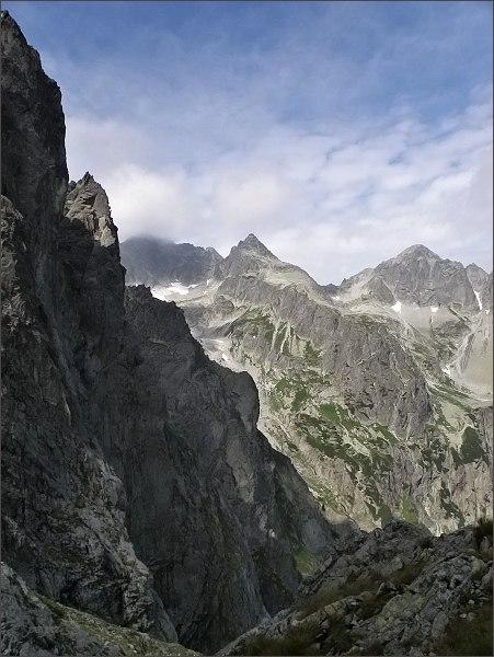 Čierny štít (uprostřed) z Nemeckého rebríku