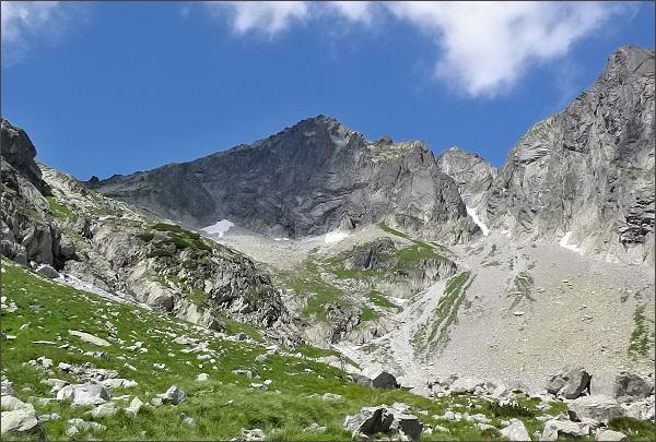 Kolový štít nad Malou Zmrzlou dolinou