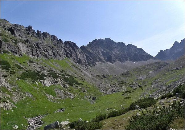 Kolový štít nad Čiernou Javorovou dolinou