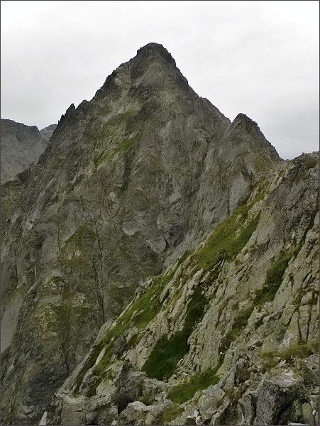 Kolový štít z Belasej veže