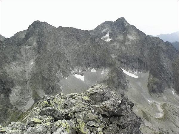 Baranie rohy a Ľadové štíty z Kolového štítu