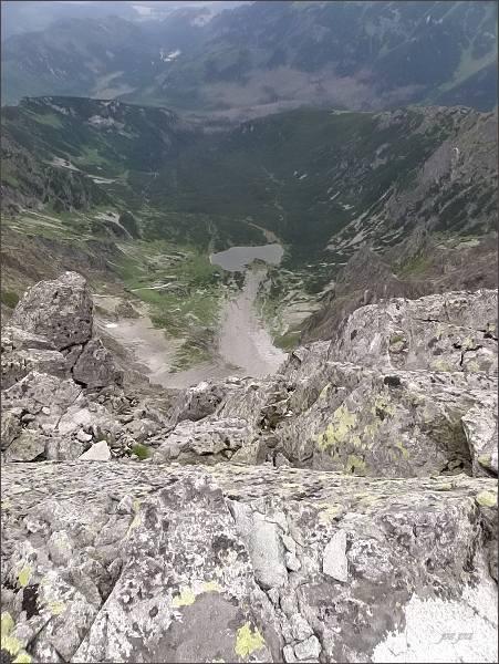Kolová dolina a Kolové pleso z Kolového štítu