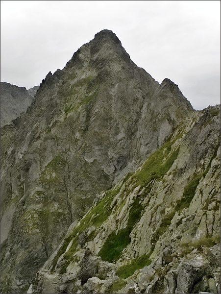 Kolový štít a Zmrzlá veža z Belasej veže