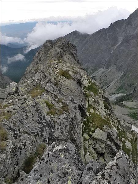 Malý Kolový štít a Zadný Kopiniak z Belasej veže