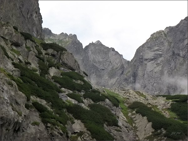 Zmrzlá veža nad Malou Zmrzlou dolinou
