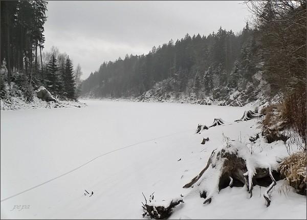 Boskovická přehrada týden nato...