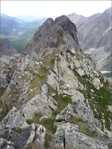 Malý Kolový štít z Belasej veže