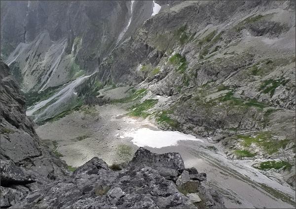 Pohled ze Zdného Kopiniaku do Malej Zmrzlej doliny