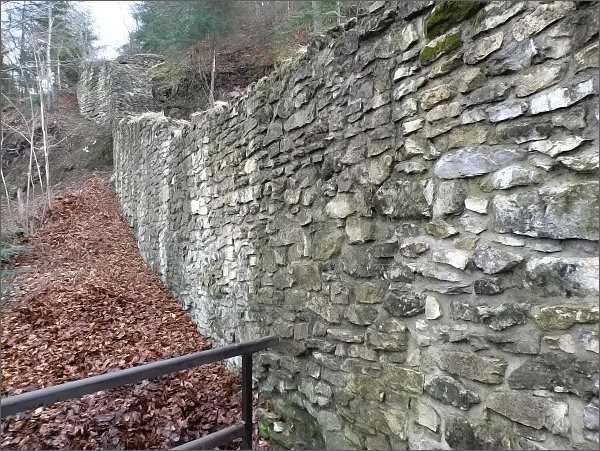 Zřícenina hradu Pieniny