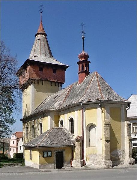Luže. Kostel sv. Bartoloměje