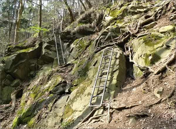 Stezka údolím Krounky