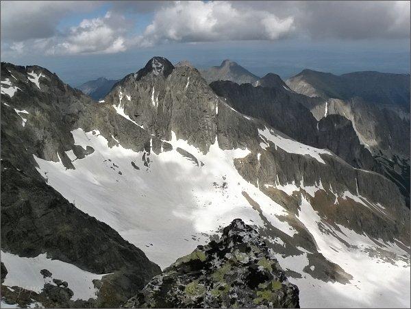 Veľká Zmrzlá dolina ze Spišského štítu