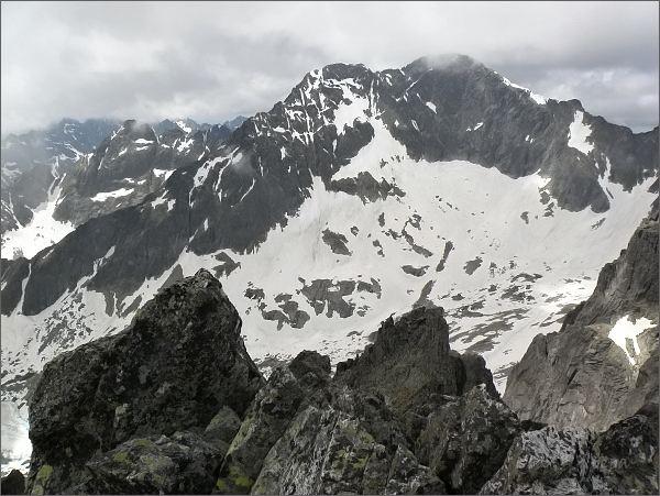 Ľadové štíty ze Spišského štítu