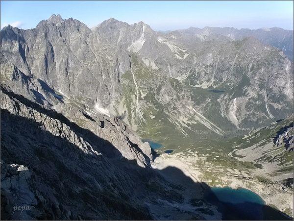 Kačacia dolina z Velického štítu