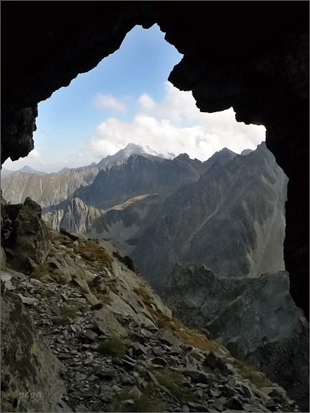 Skalní okno v Zlobnej kopke