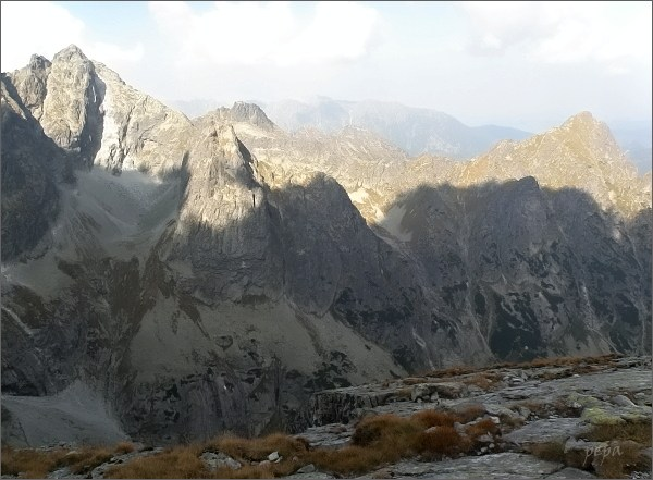Ťažká dolina z Galérie Ganku