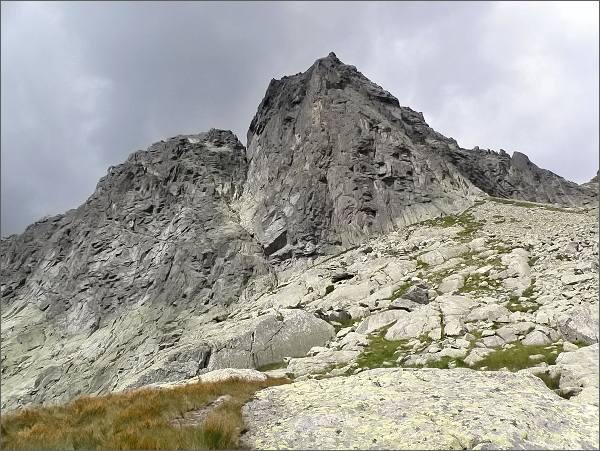 Ostrý štít (jihozápadní stěna) a Malý Ostrý štít