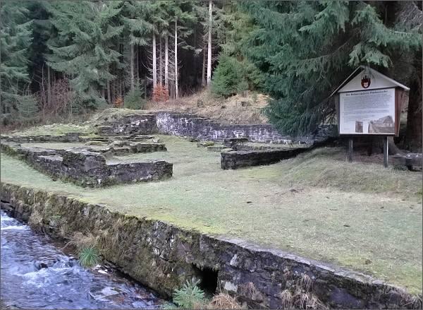 Bývalý hamr na potoku Schwefelbach