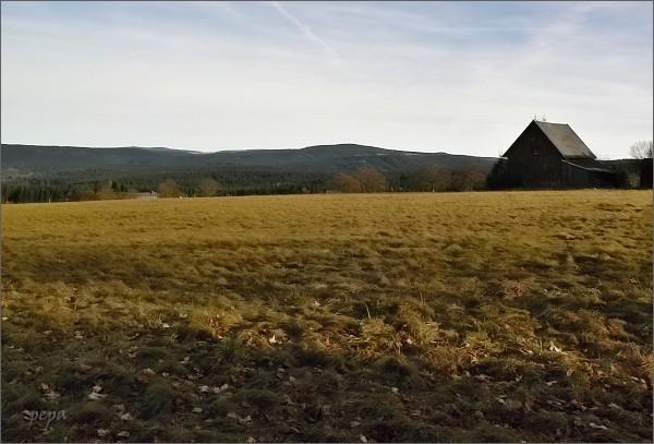 Johanngeorgenstadt, Oberjugel. Pohled k Blatenskému vrchu
